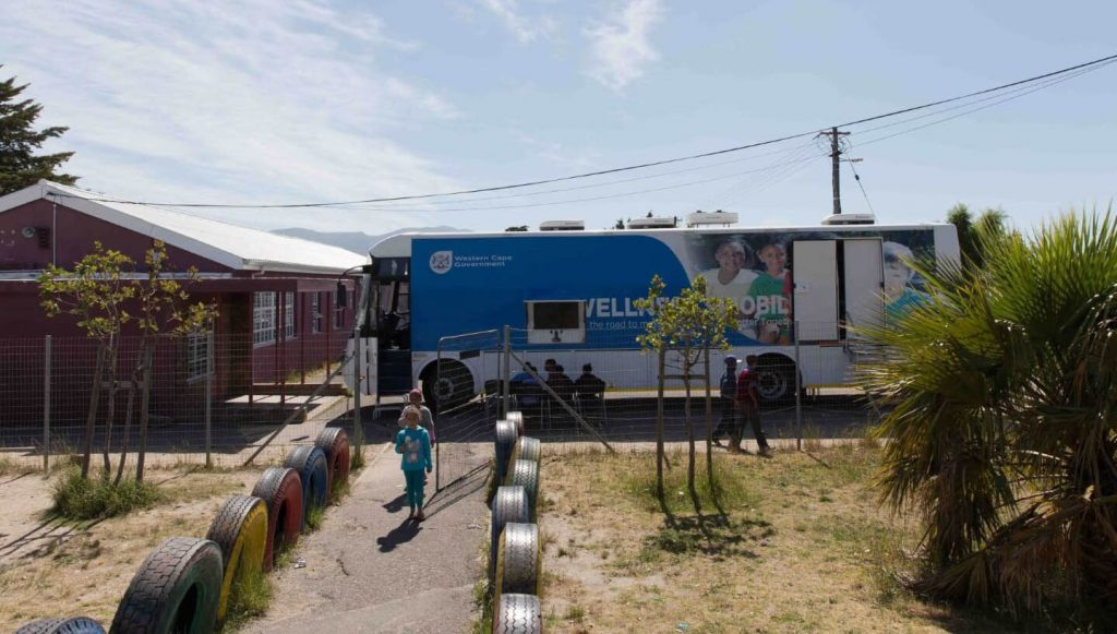 Department of Health MSH project mobile clinic